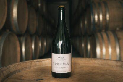 A bottle of Oude